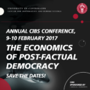CIBS Conference 2017 | The Economics of Post-Factual …