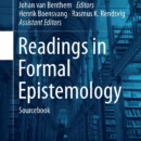 New Book | Readings in Formal Epistemology | 2016
