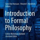 New Book | Introduction to Formal Philosophy | Springer Nature | 26.07.2018